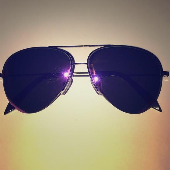 1f6954af956c Victoria Beckham Accessories | Purple Tinted Aviators | Poshmark
